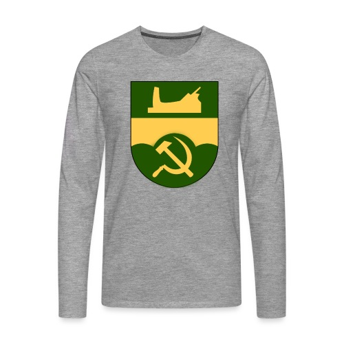 Åtvidaberg Sovjet - Långärmad premium-T-shirt herr