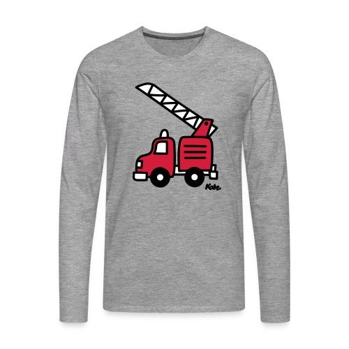 Feuerwehrauto (c) - Männer Premium Langarmshirt