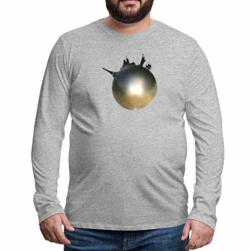 Boule de Pétanque Mondial - T-shirt manches longues Premium Homme