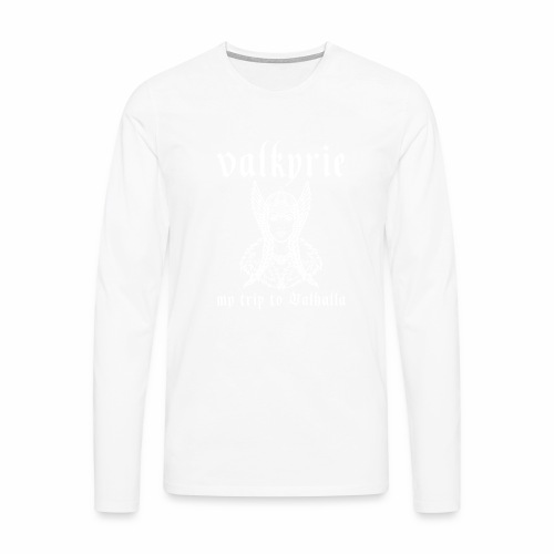 Valkyrie to Valhalla - Camiseta de manga larga premium hombre
