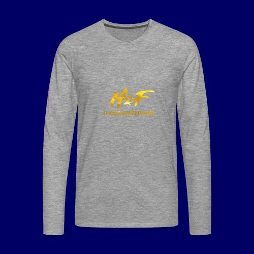 h f gold2 - Maglietta Premium a manica lunga da uomo