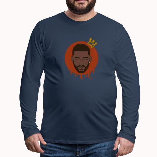Black King - Mannen Premium shirt met lange mouwen