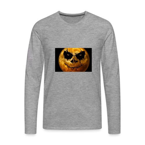 Halloween Mond Shadow Gamer Limited Edition - Männer Premium Langarmshirt
