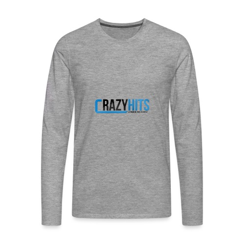 CrazyHIT - T-shirt manches longues Premium Homme