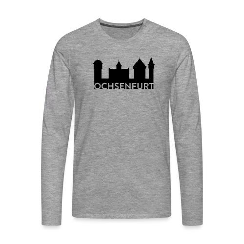 Logo2 Ochsenfurt - Männer Premium Langarmshirt