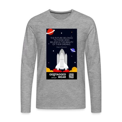 Rocket Science Men - Männer Premium Langarmshirt