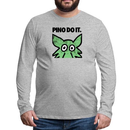PINO DO IT - Maglietta Premium a manica lunga da uomo