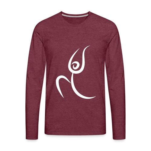 yoga warior - T-shirt manches longues Premium Homme