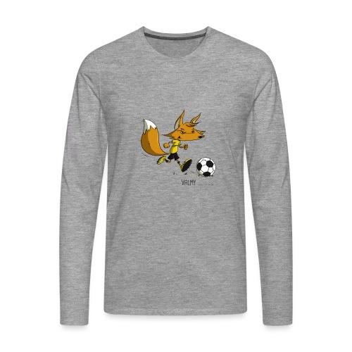 Valmy mascotte - T-shirt manches longues Premium Homme