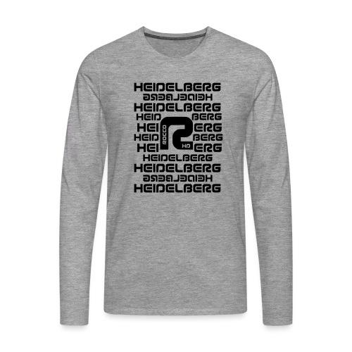 Heidelberg - Männer Premium Langarmshirt