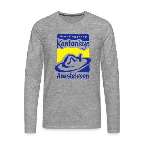 logo simpel 2 - Mannen Premium shirt met lange mouwen
