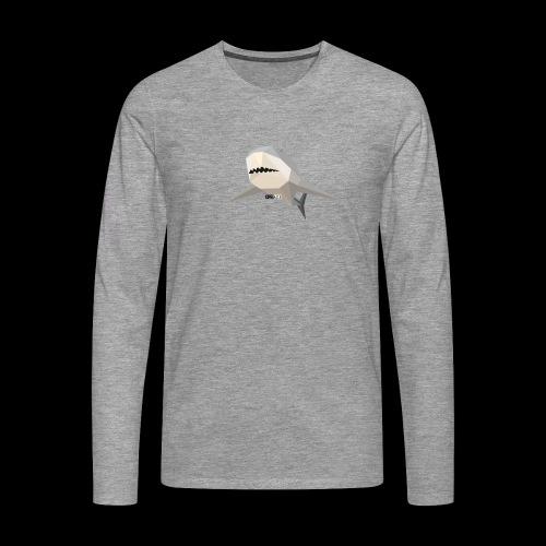 SHARK COLLECTION - Maglietta Premium a manica lunga da uomo