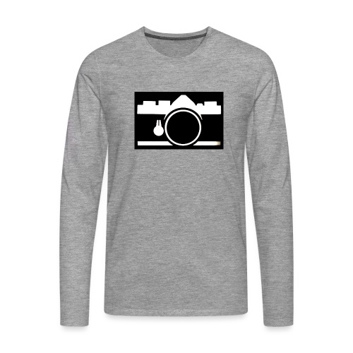 Vintage Camera - Maglietta Premium a manica lunga da uomo
