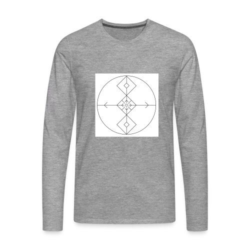 I release family karma now. - Premium langermet T-skjorte for menn