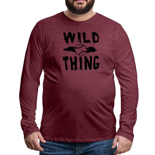 Wild Thing - Men's Premium Longsleeve Shirt