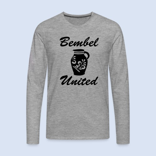 Bembel United Hessen - Männer Premium Langarmshirt