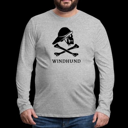 ~ Windhund ~ - Männer Premium Langarmshirt