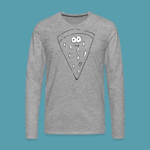 vesimelooni - Miesten premium pitkähihainen t-paita