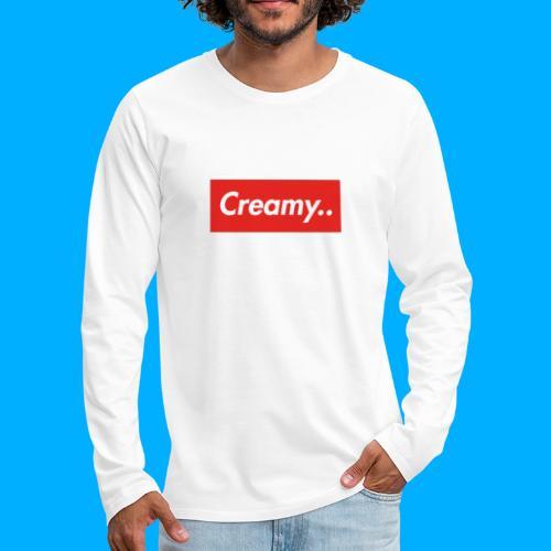 LIMITED EDITION Creamy... Shirts - Men's Premium Longsleeve Shirt