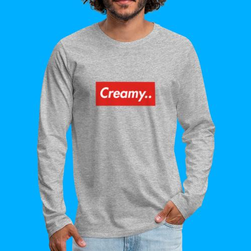 LIMITED EDITION Creamy... Shirts - Men's Premium Longsleeve Shirt