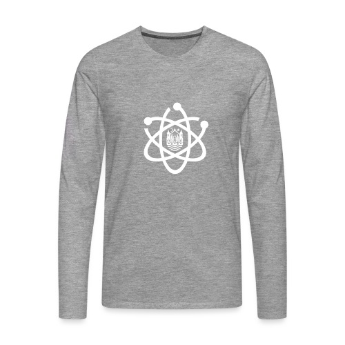 March for Science Aarhus logo - Men's Premium Longsleeve Shirt