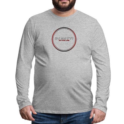 DJ Matti Official Merchandise - Men's Premium Longsleeve Shirt