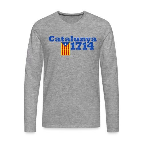 Catalunya 1714 - Camiseta de manga larga premium hombre