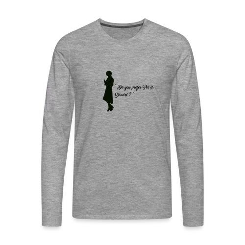 Queenie - T-shirt manches longues Premium Homme