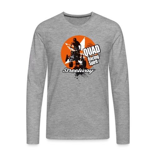 M096 - T-shirt manches longues Premium Homme