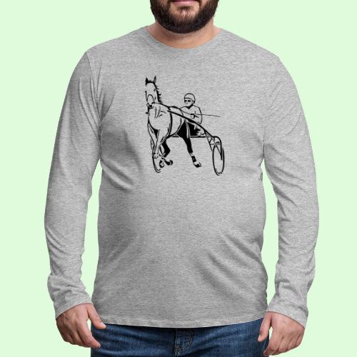 Le Trotteur - T-shirt manches longues Premium Homme