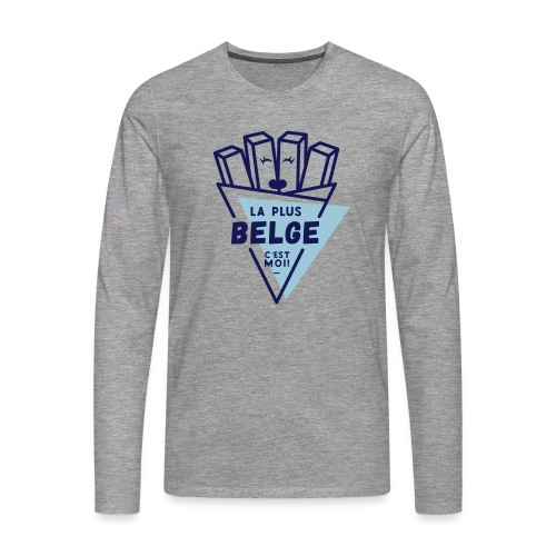 La+Belge - T-shirt manches longues Premium Homme