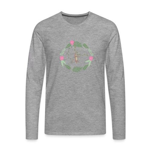Mikey monkey - Maglietta Premium a manica lunga da uomo
