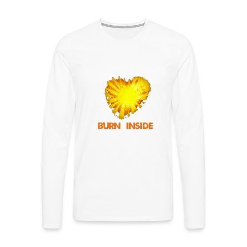 Burn inside - Maglietta Premium a manica lunga da uomo