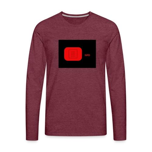 NFD-COOL/EDITION - Miesten premium pitkähihainen t-paita