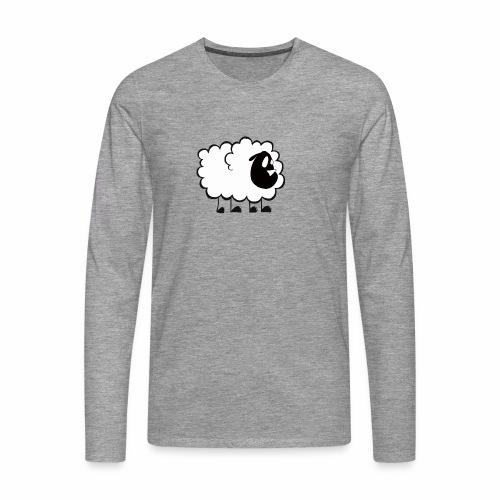 Pequeña Oveja - Camiseta de manga larga premium hombre