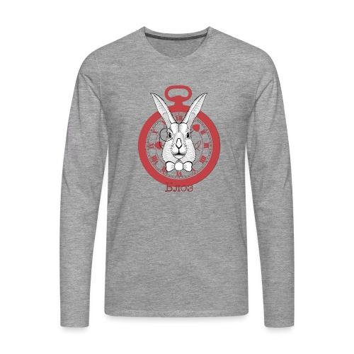 White rabbit - T-shirt manches longues Premium Homme