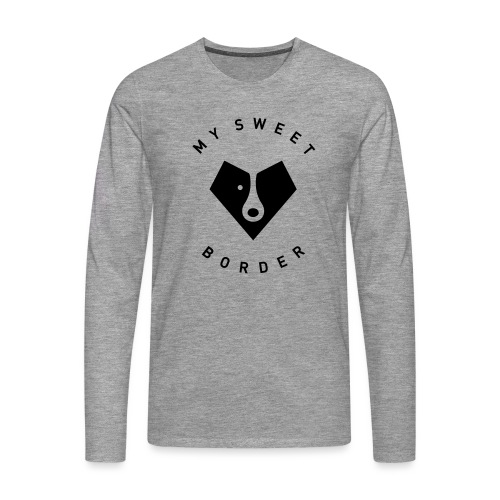 My sweet border - T-shirt manches longues Premium Homme