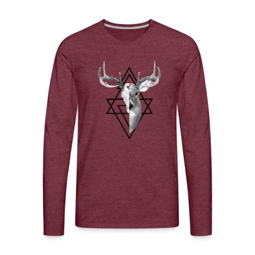 My Deer - Miesten premium pitkähihainen t-paita