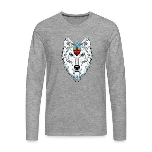 female wolf newschool - T-shirt manches longues Premium Homme
