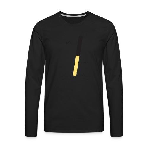 FP25 POHJOISVIITTA Merimerkit funprint24 net - Miesten premium pitkähihainen t-paita
