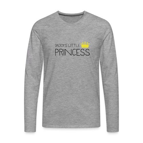 Daddy's little Princess - Männer Premium Langarmshirt