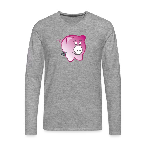 Pig - Symbols of Happiness - Men's Premium Longsleeve Shirt