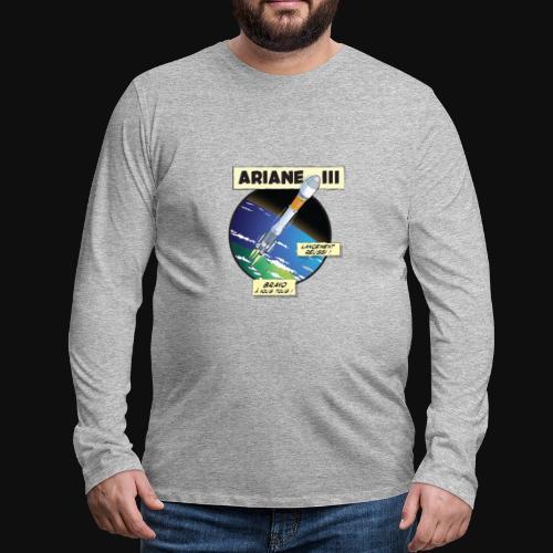 Ariane 3 - Space Objective - Men's Premium Longsleeve Shirt