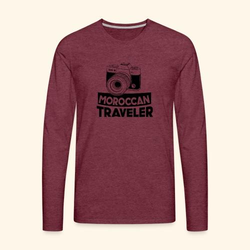 Moroccan Traveler - T-shirt manches longues Premium Homme
