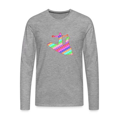 main - T-shirt manches longues Premium Homme