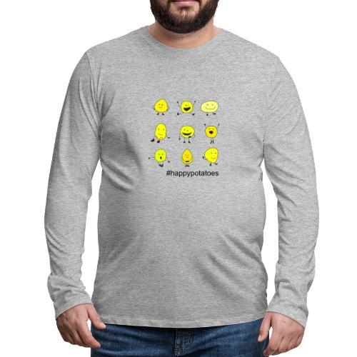 9 smilies - Männer Premium Langarmshirt