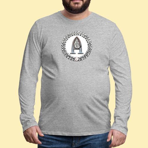 Logo d'Arantelle - T-shirt manches longues Premium Homme