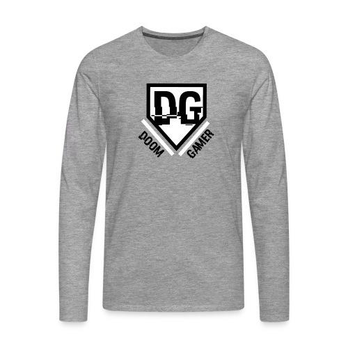 Doom gamer trui - Mannen Premium shirt met lange mouwen