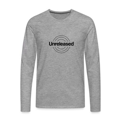 unreleased black - T-shirt manches longues Premium Homme