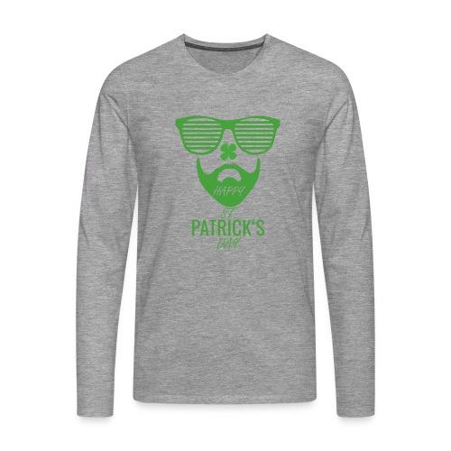 Happy St. Patrick's Beard Day - Männer Premium Langarmshirt